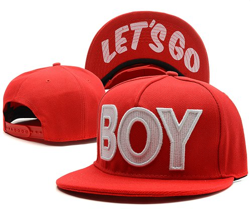 BOY LONDON Snapback Hat SD3